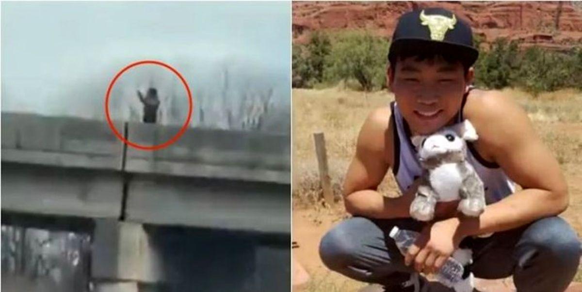 شلیک پلیس آمریکا به جوانی که تسلیم شده بود!؟ +فیلم