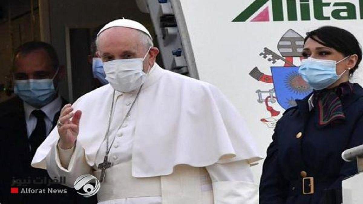 چه کسی به استقبال پاپ فرانسیس رفت؟ +عکس