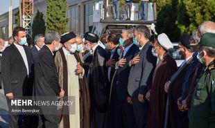 تصاویر: سفر رئیسجمهور به شیراز