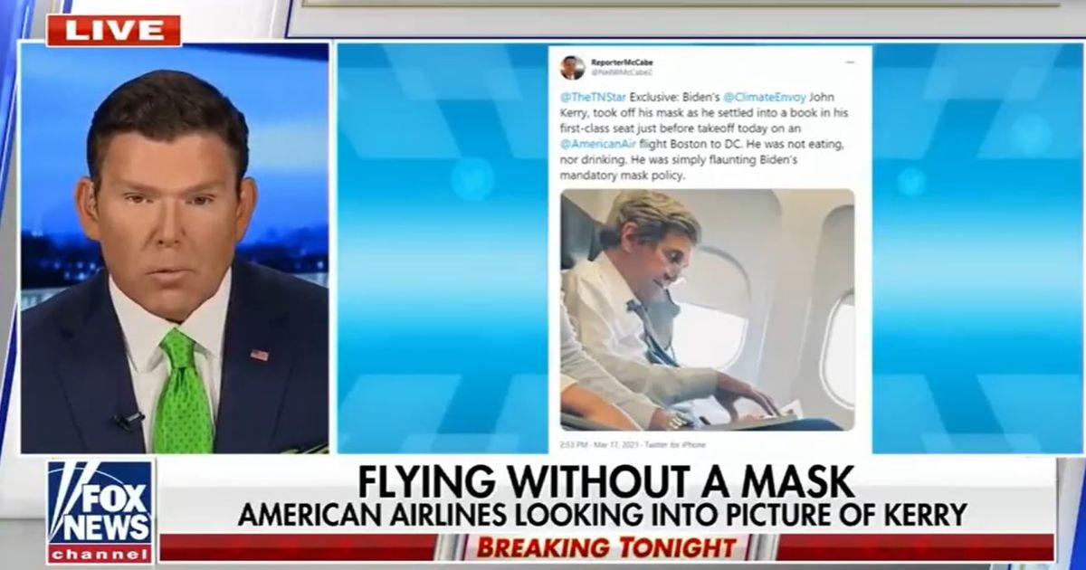 ماجرای جنجالی جان کری در هواپیما +عکس