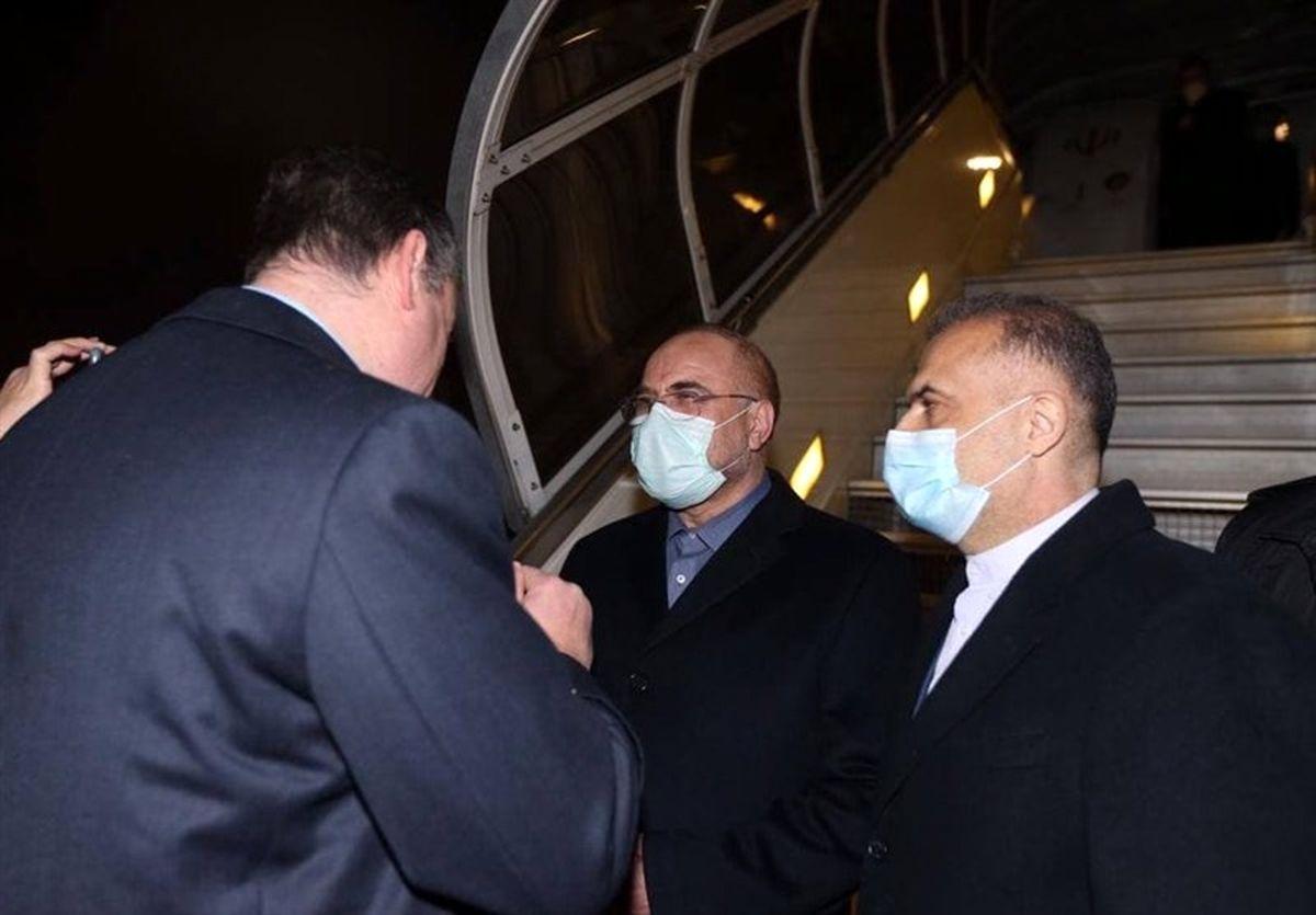 اطلاعیه مجلس درباره سفر قالیباف به مسکو