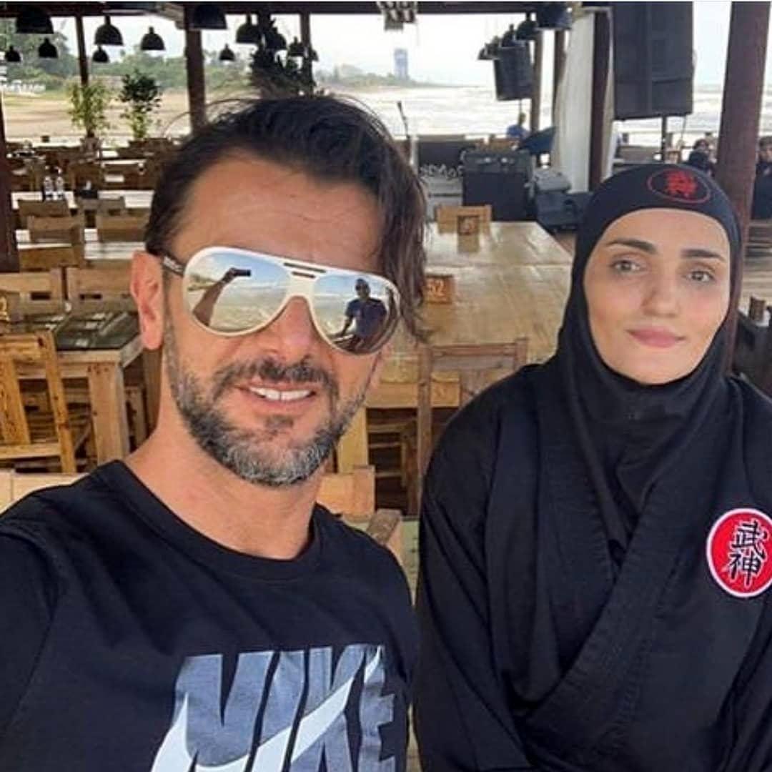 عاشقانه های امین حیایی و همسرش + عکس و بیوگرافی
