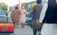 اولین تصاویر از انفجار در خارج از فرودگاه کابل
