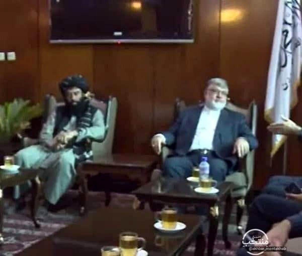 سفر استاندار خراسان رضوی به کابل و دیدار با طالبان! +عکس