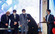 تصاویر: زینب سلیمانی در مراسم جشنواره رفیق خوشبخت ما