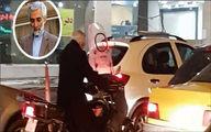 مسئولی که با موتور سرکار می رود! +عکس