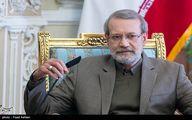 لاریجانی: انتفاضه در دو دهه اخیر از سنگ به موشک رسیده