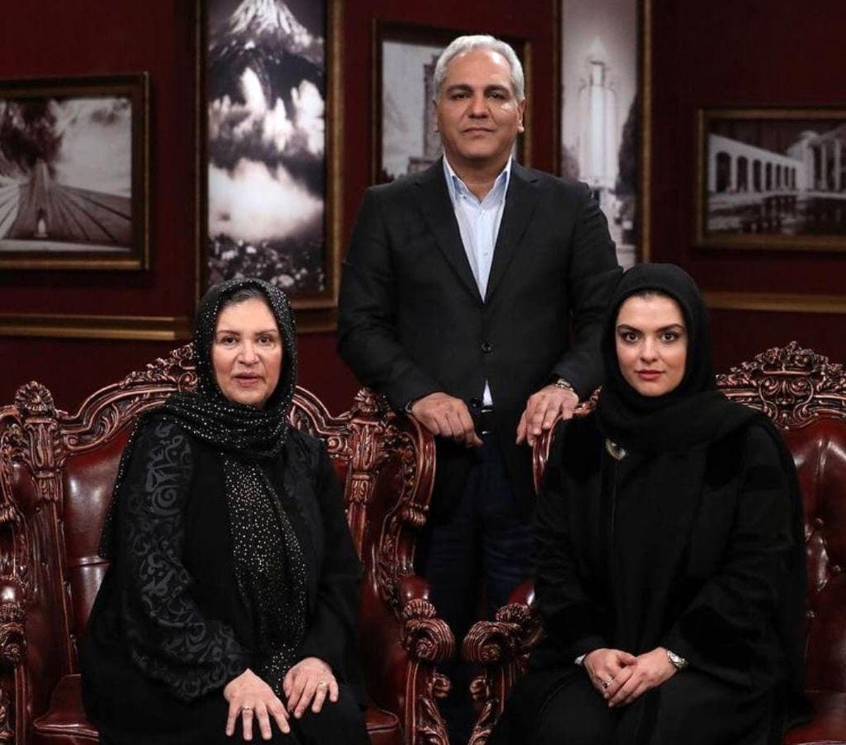 مادر و دختر بازیگر مهمان امشب دورهمی مهران مدیری +عکس