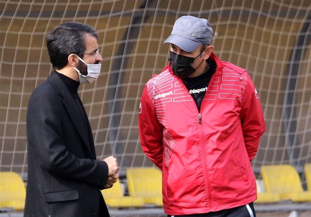 گلمحمدی به باشگاه پرسپولیس لیست داد