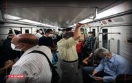 علت ازدحام امروز مسافران مترو چه بود؟