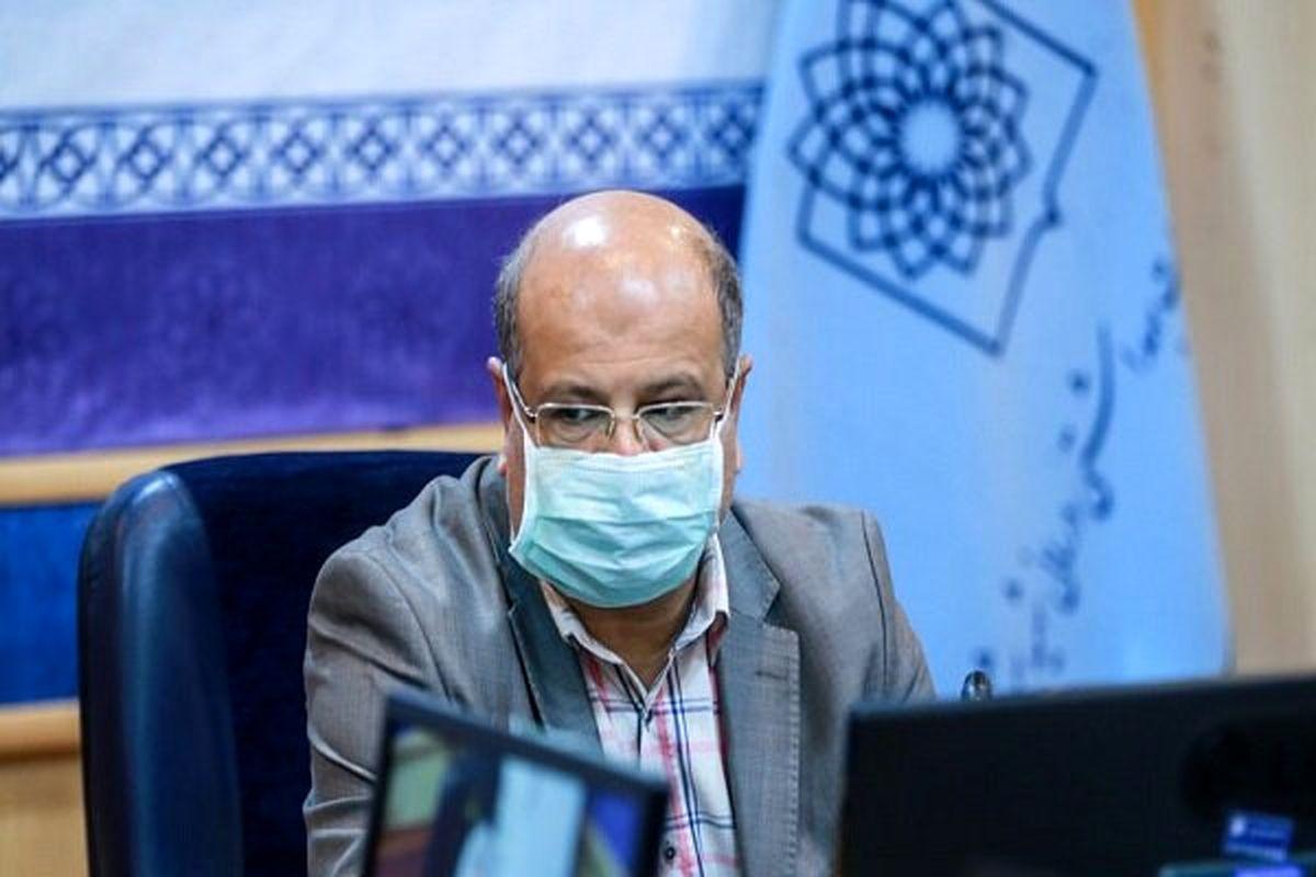 نگرانی زالی از ورود مسافران نوروزی به تهران