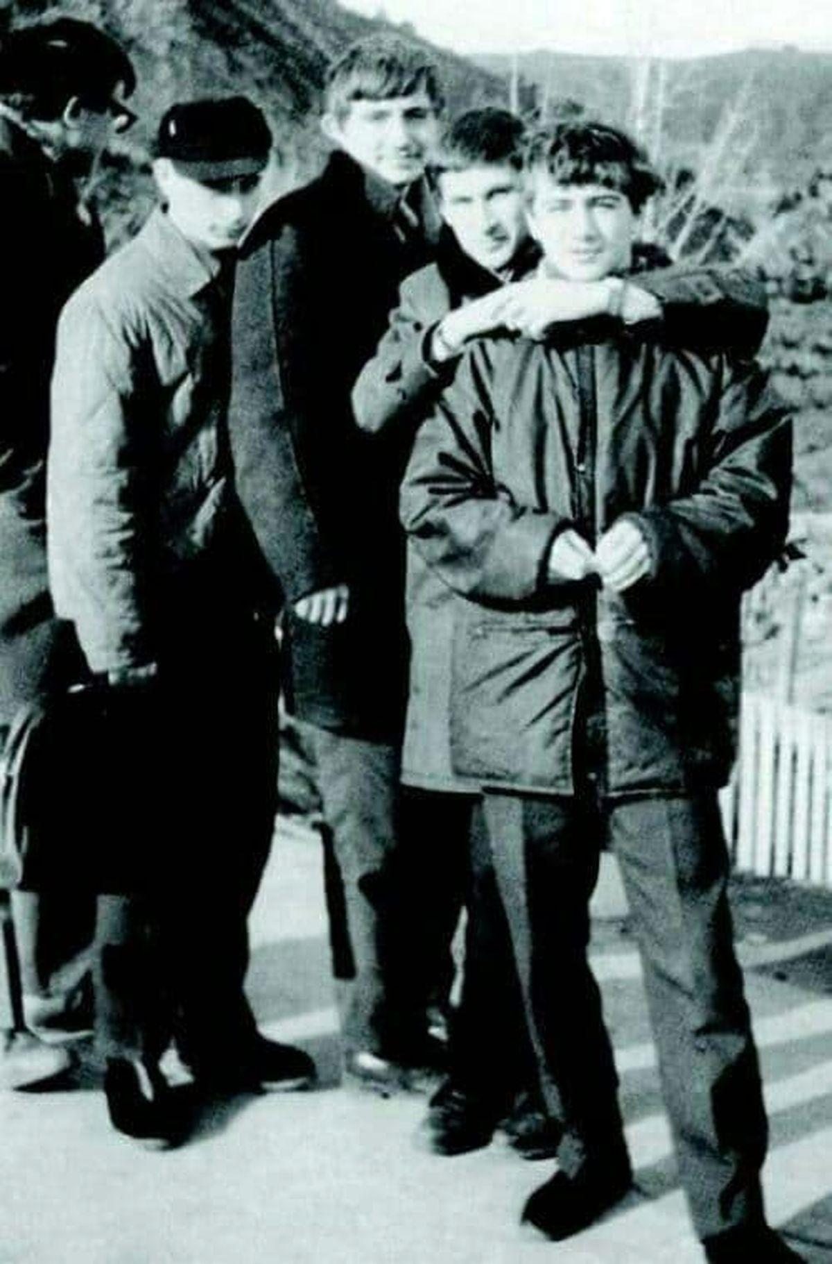 رئیس جمهور در سنین نوجوانی +عکس