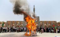 تصاویر: تجمع خودجوش مردم یزد در روز جهانی قدس
