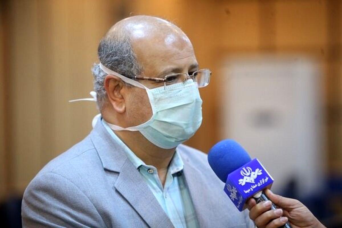 زالی: همه آمارهای مربوط به کرونا در تهران در حال افزایش است