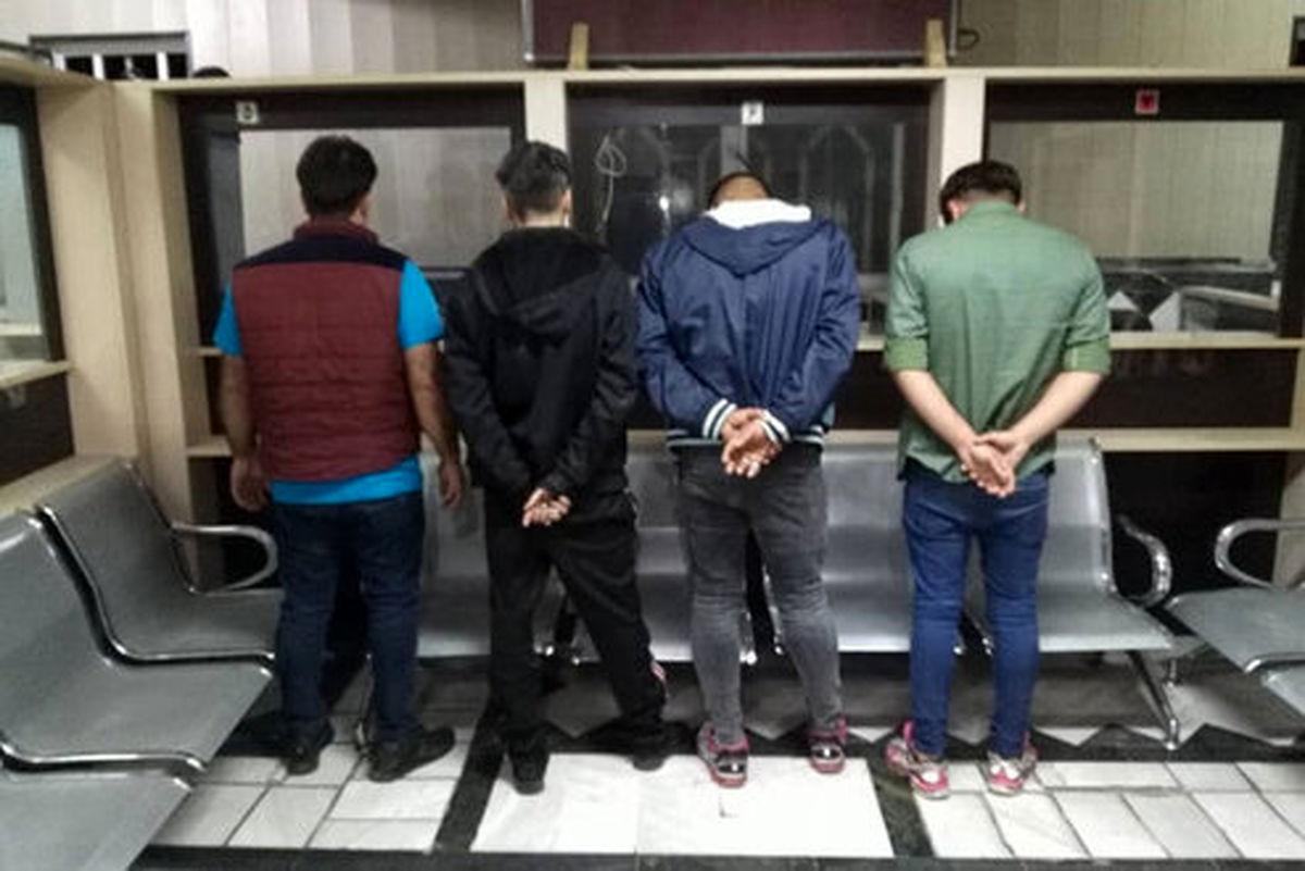 بازداشت ۹ نفر در پی تشکیل خانه فساد در قم +عکس