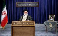 تصاویر: سخنرانی تلویزیونی رهبر انقلاب به مناسبت عید قربان