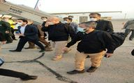 عکس: قالیباف وارد فرودگاه آبادان شد