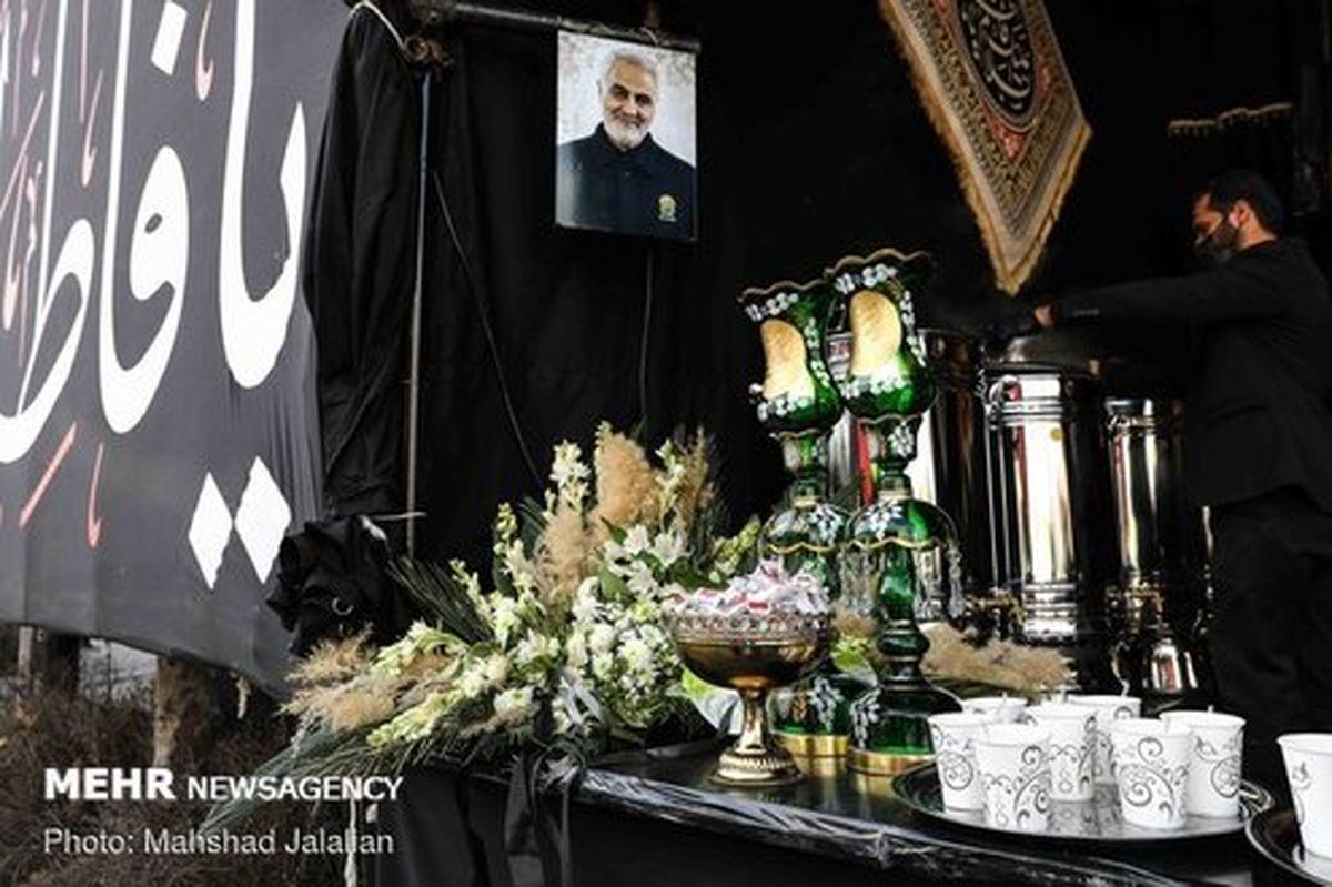 تصاویر: مشهد در عزای نگین شکستهی علی (ع)