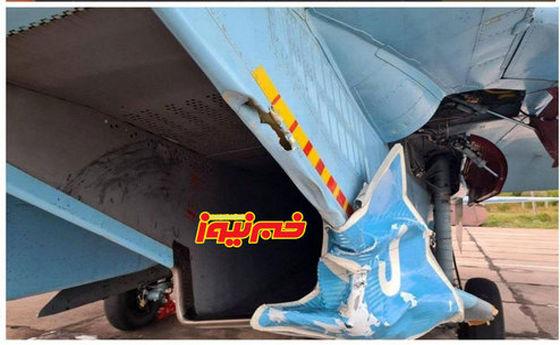 حادثه برای این هواپیما که به خیر گذشت +عکس