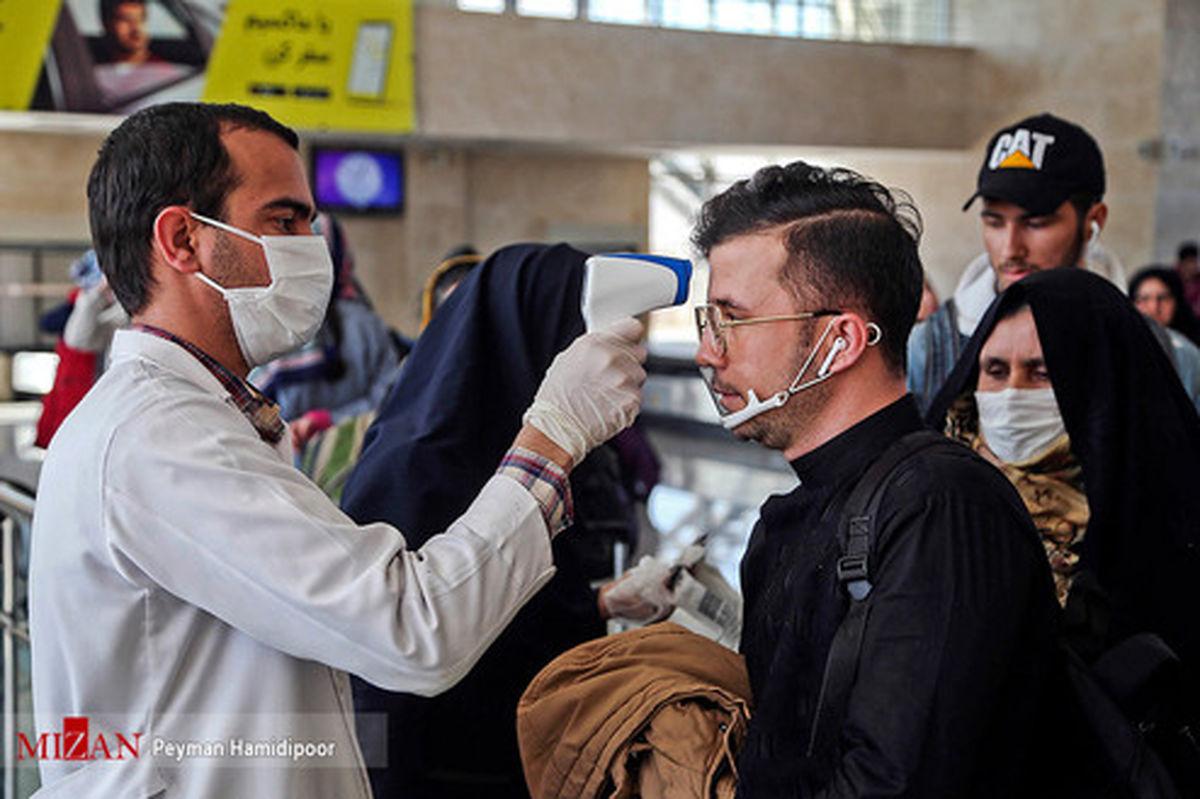 تصاویر: تست حرارت سنجی در فرودگاه بجنورد