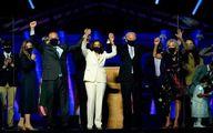 تصاویر: بایدن پیروزیاش را به همراه هوادارانش جشن گرفت