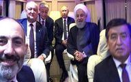نخستوزیر ارمنستان درباره «سلفی» با روحانی و پوتین توضیح داد