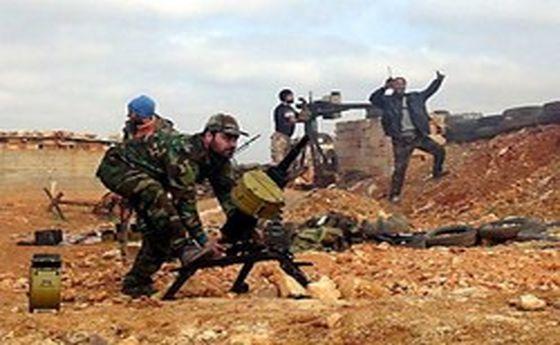 حملات گسترده ارتش سوریه به مواضع تروریستها در حماه و ادلب