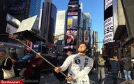 تصاویر: جنون سلفی گرفتن به فاز جدیدی وارد شد