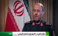 دهقان: اگر سوریه برای مقابله با آمریکا کمک بخواهد، ایران آماده است