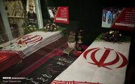 سنگ مزار جدید سردار شهید حاج قاسم سلیمانی +عکس