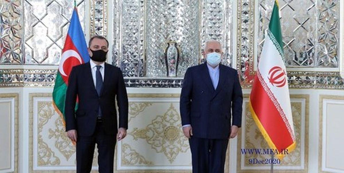 وزیر خارجه جمهوری آذربایجان با ظریف دیدار کرد