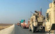 انفجار بمب در مسیر کاروان لجستیک نیروهای آمریکایی