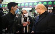 سلفی جوانان کرمانی با قالیباف