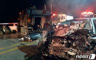 تصادف مرگبار خودروی مسافری با تانک آمریکایی در سئول+عکس