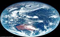 نخستین تصاویر واقعی از سیاره زمین