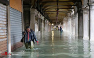 تصاویر: سیل در ونیز