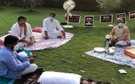 تحصن عجیب نمایندگان پارلمان هند! +عکس