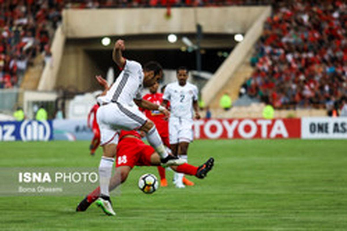 بهترین بازیکن پرسپولیس - الجزیره