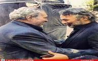 عکس: کاظم افرندنیا و جوهرچی ۴۵ روزپیش درآغوش هم!