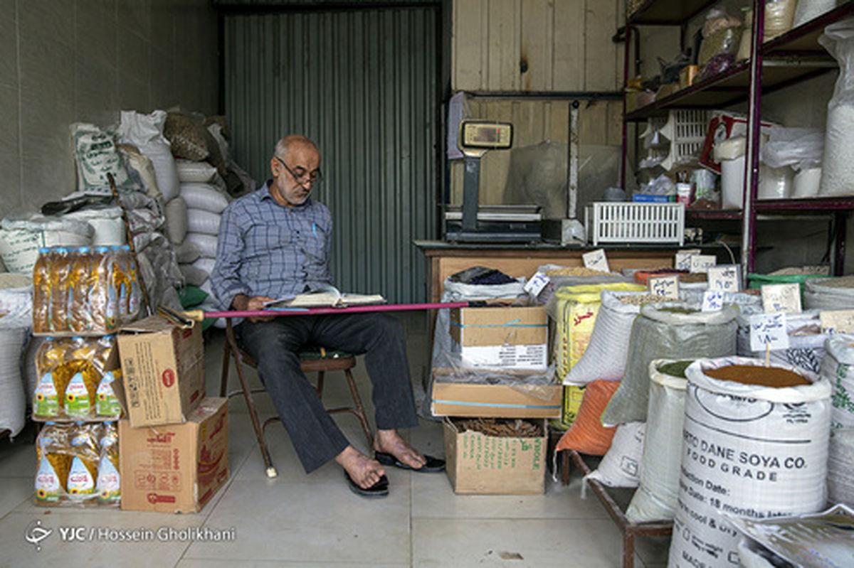 تصاویر: کسادی بازار قزوین