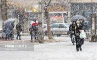 تصاویر: بارش اولین برف پاییزی در اراک