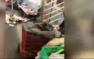 فیلم: واگن قطار پر از زباله در مترو نیویورک
