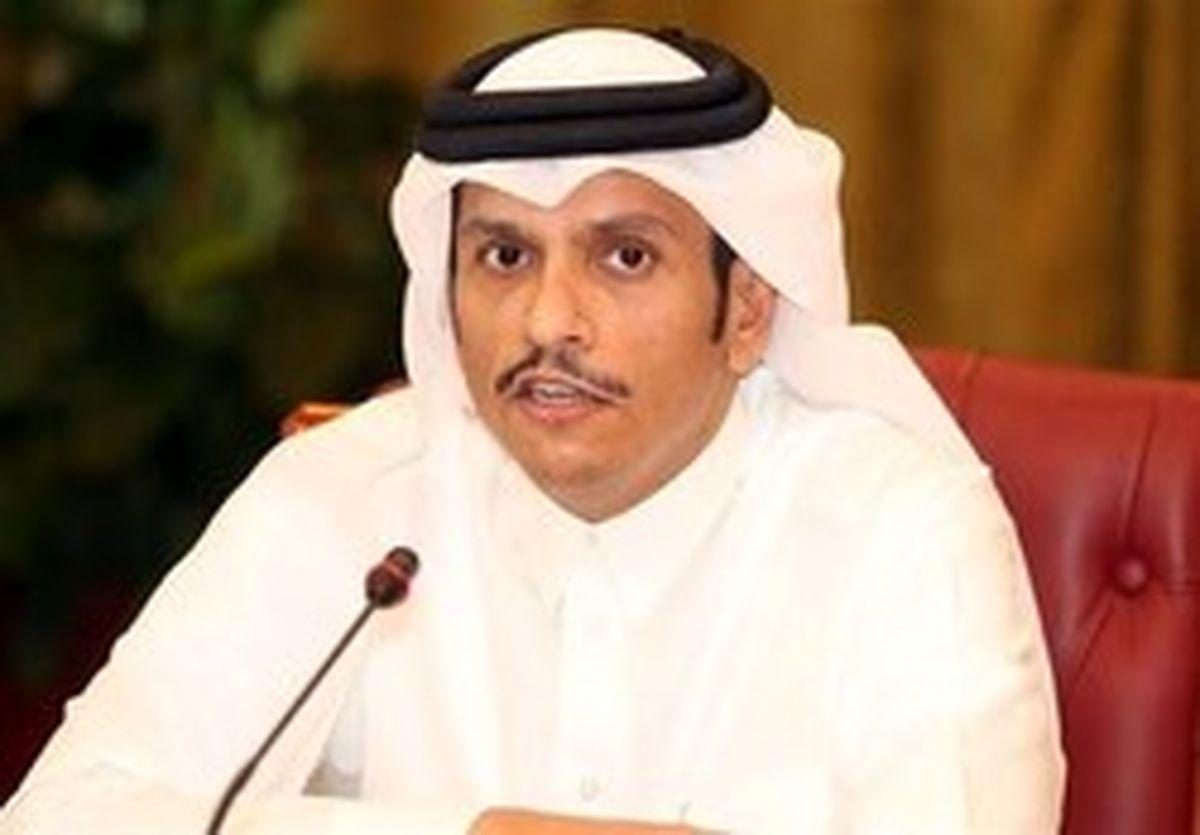 درخواست وزیر خارجه قطر برای گفتگو با ایران