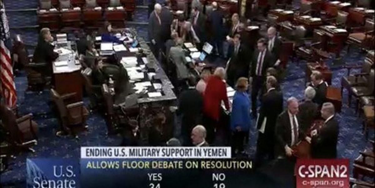 هشدار  ۱۸ سناتور آمریکایی به رژیم صهیونیستی