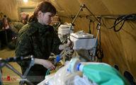 تصاویر: بیمارستان صحرایی روسیه