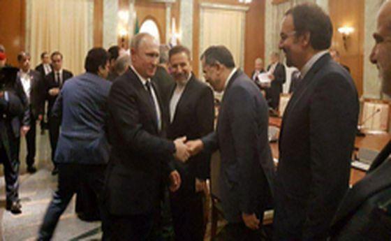 استقبال پوتین از هیات ایرانی در سوچی +عکس