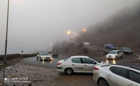 محدودیت ۳ روزه تردد در جاده چالوس