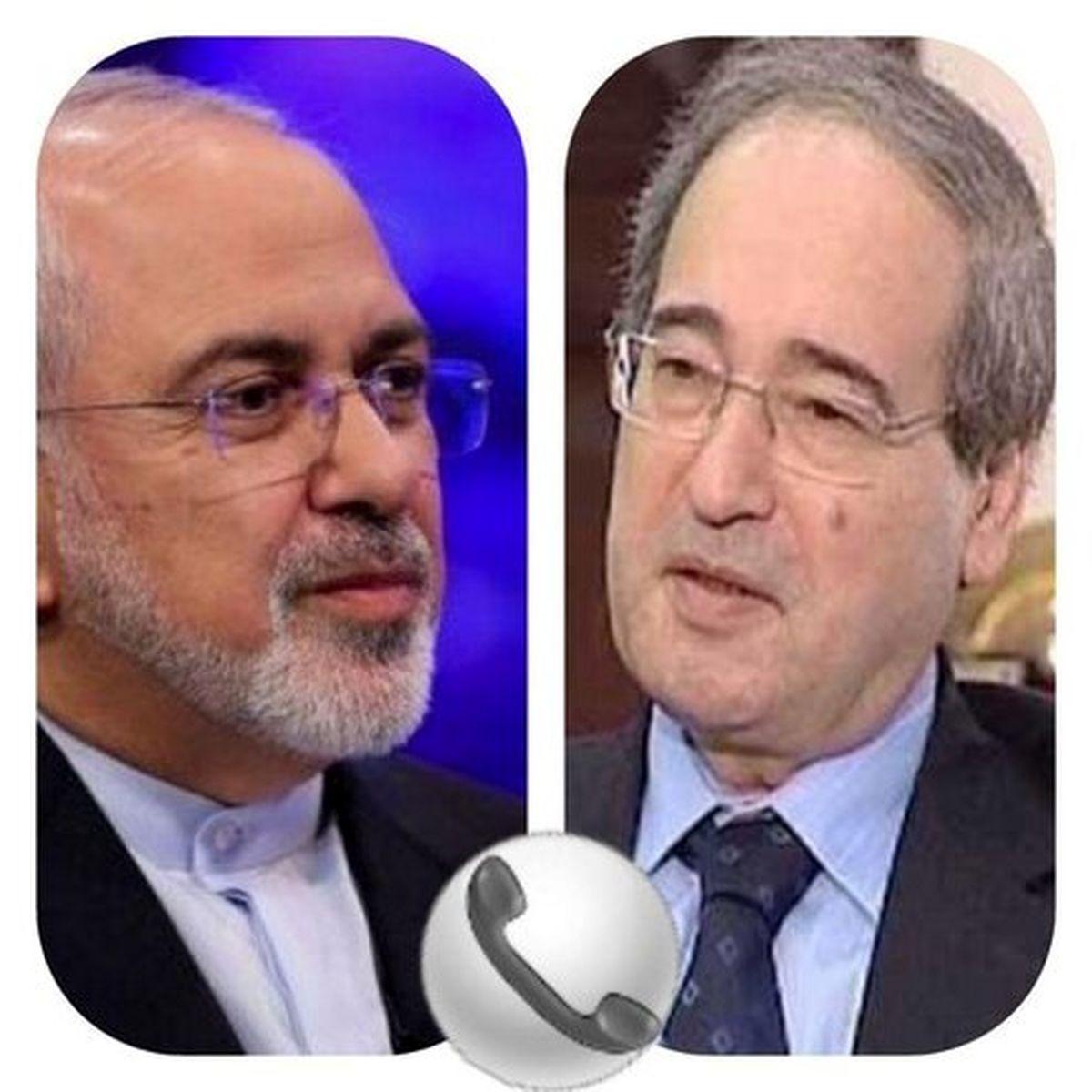در گفتگوی تلفنی ظریف با وزیرخارجه جدید سوریه چه گذشت؟