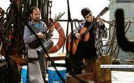 احمد مهرانفر و اندیشه فولادوند در حال نوازندگی! +عکس