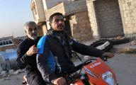 محافظ قمی شهید سردار سلیمانی +عکس